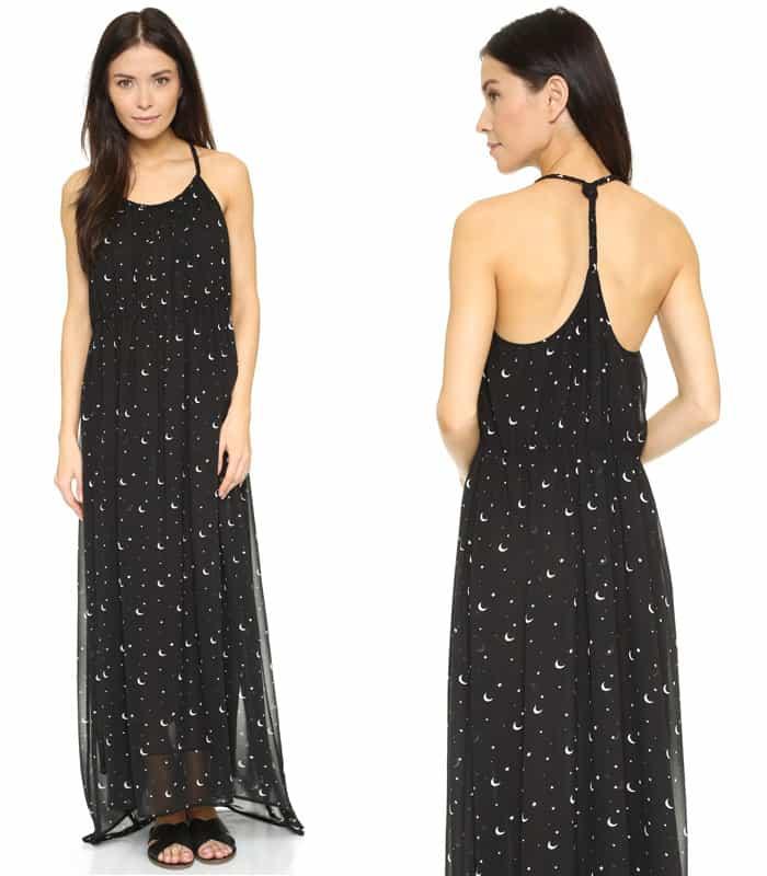 Wildfox Moon & Stars Flower Dress