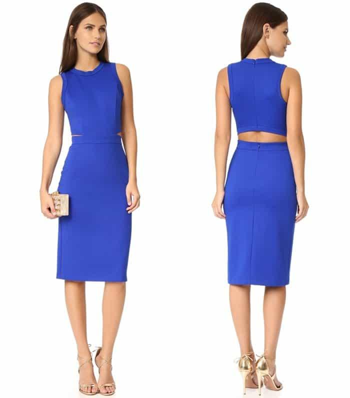 Amanda Uprichard Shaina Dress3