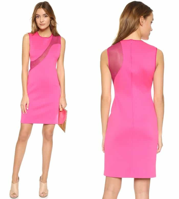 Clover Canyon Mesh Panel Dress