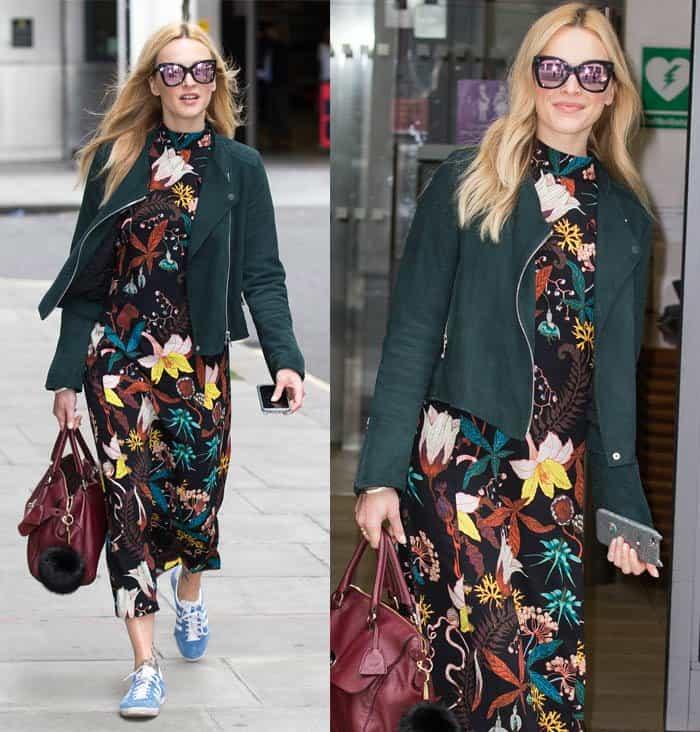 Fearne Cotton floral dress2