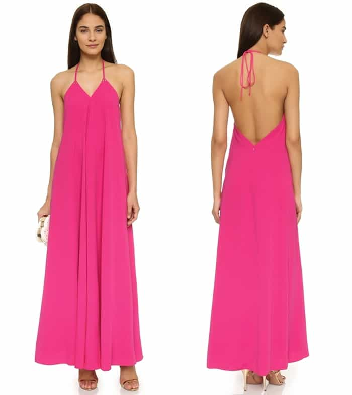 Jill Jill Stuart Backless Maxi Dress