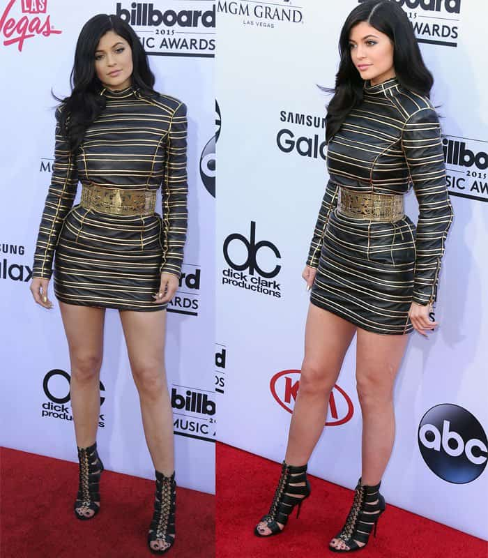 Kylie Jenner at the 2015 Billboard Music Awards in Las Vegas on May 17, 2015