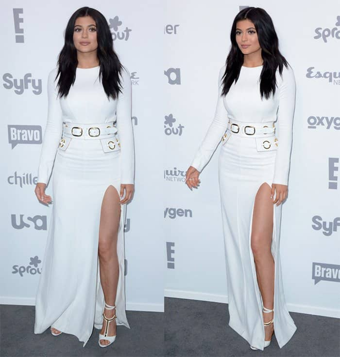 Kylie Jenner at the 2015 NBC Universal Cable Entertainment Upfront – Red Carpet Arrivals in Manhattan on May 14, 2015