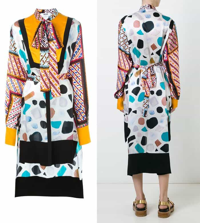 MSGM Fantasia Dress