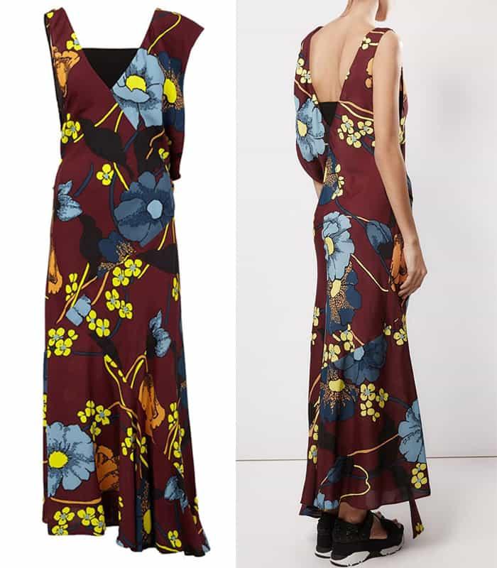Marni Floral Print Dress