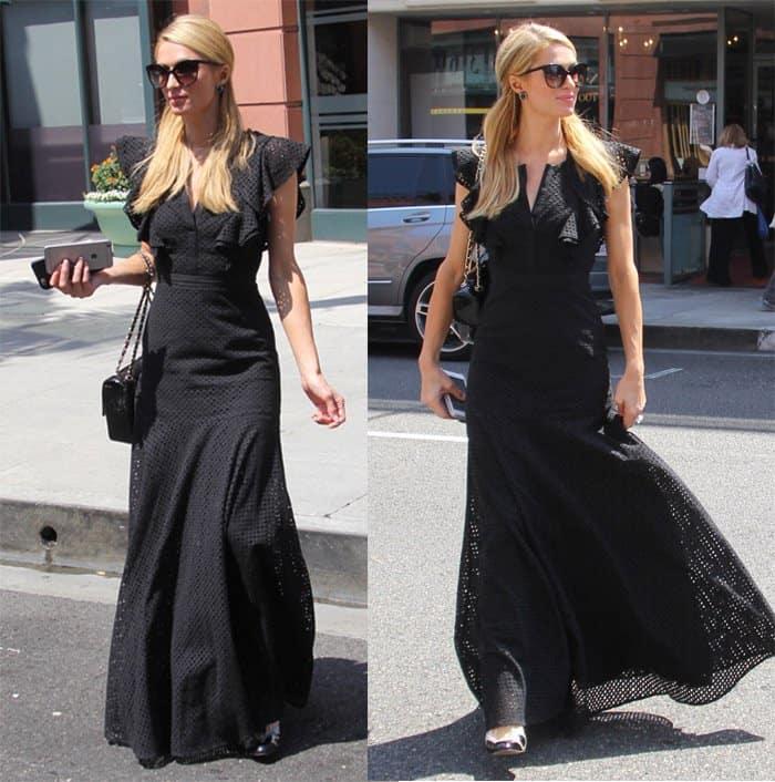 Paris Hilton Maxi Dress2