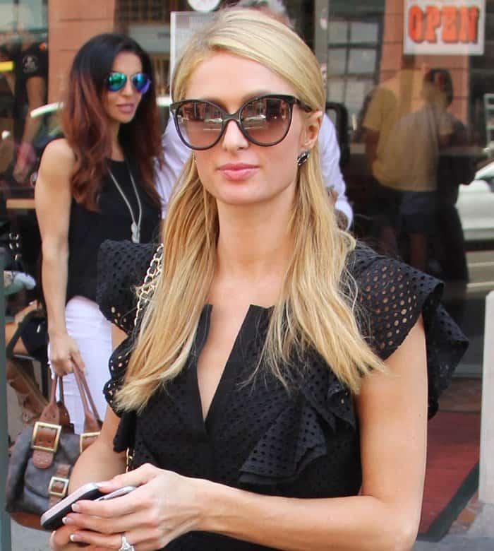 Paris Hilton Maxi Dress4