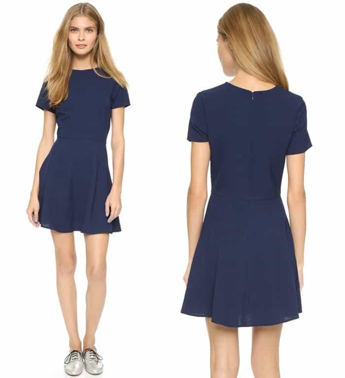 WAYF Short Sleeve Dress3