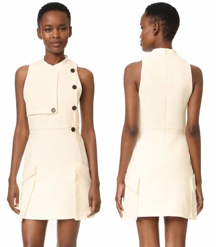 Camilla and Marc Soft Tailoring Mini Dress