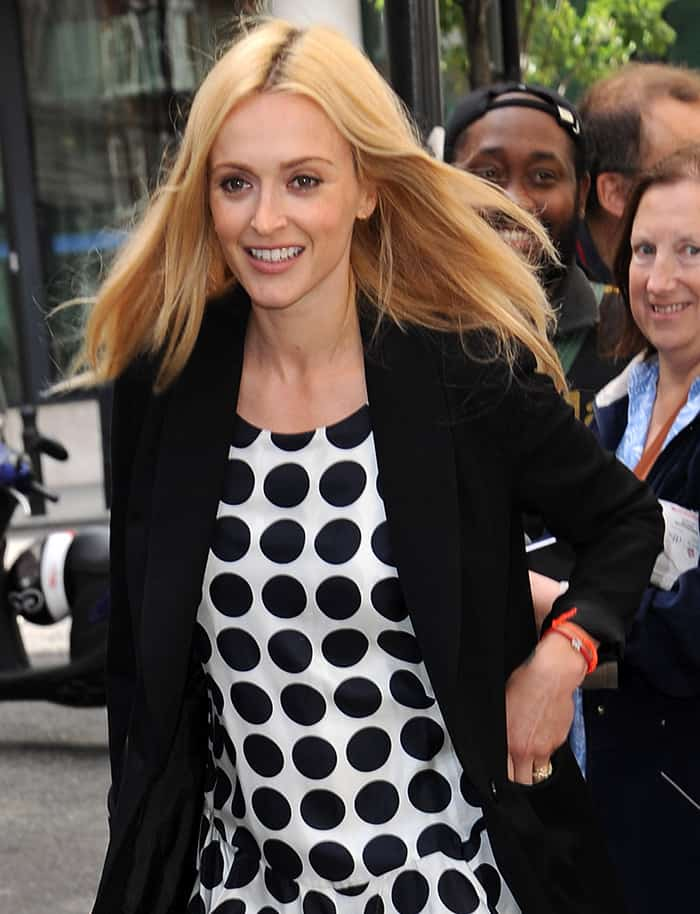 Fearne Cotton spotted leaving BBC Radio 2