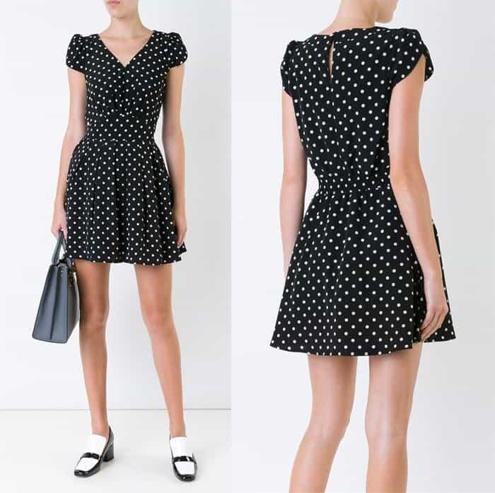 Guild Prime Polka Dot Mini Dress