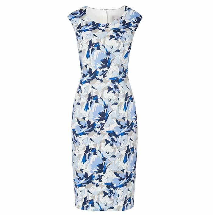 L.K. Bennett Dena Floral Print Dress
