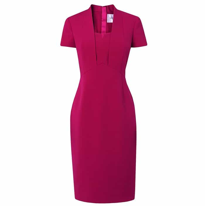 L.K. Bennett Hendra Pink Tailored Dress