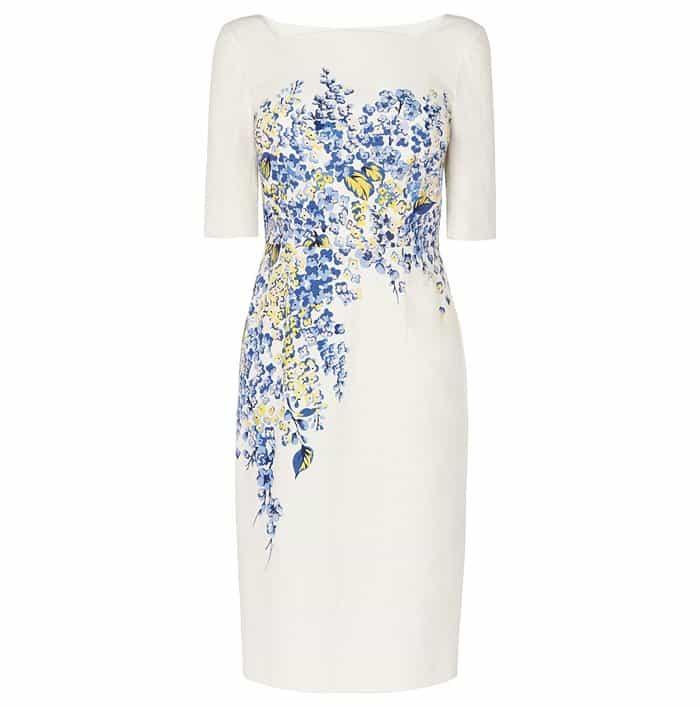 L.K. Bennett Tamara Floral Print Dress