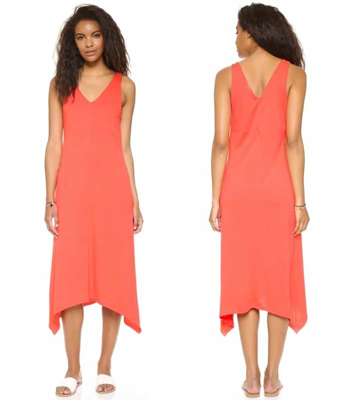 Lanston V Neck Pocket Dress3