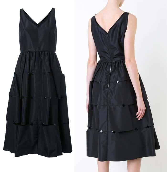 Marc Jacobs Cut Out Detail Midi Dress