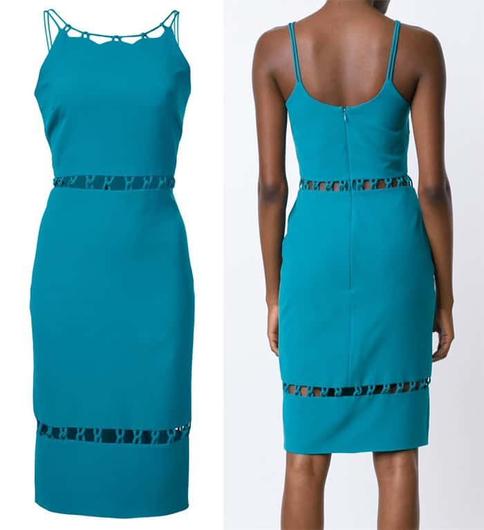 Nicole Miller Cut-Out Detail Dress