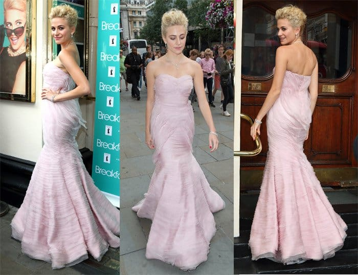 Pixie Lott's 'Breakfast At Tiffany's' Dress Collection