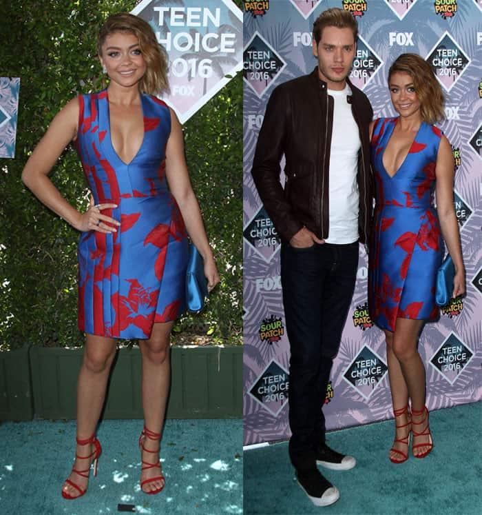 Sarah Hyland Teen Choice Awards 2016 1