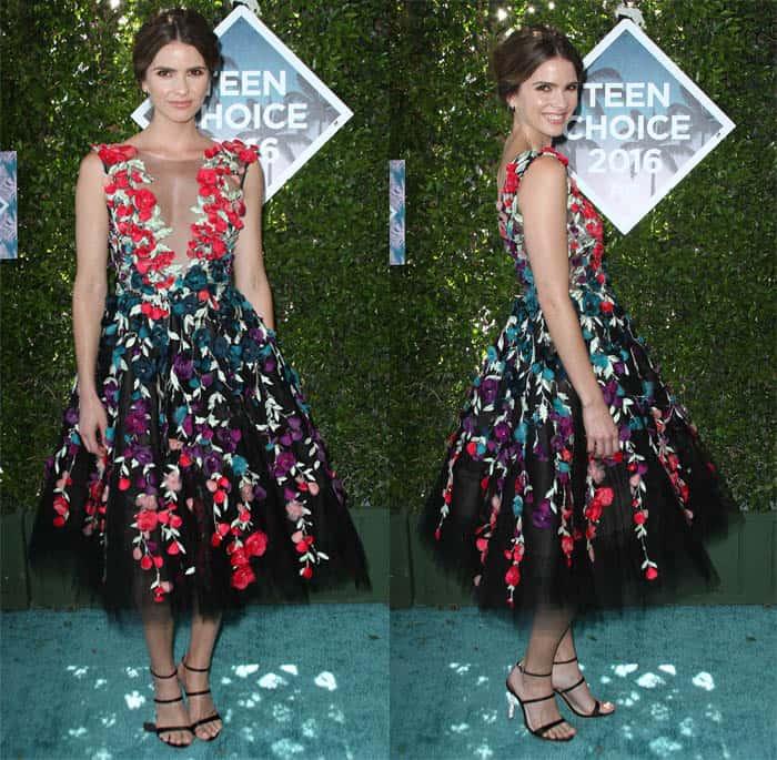Shelley Hennig Teen Choice Awards 2016 1