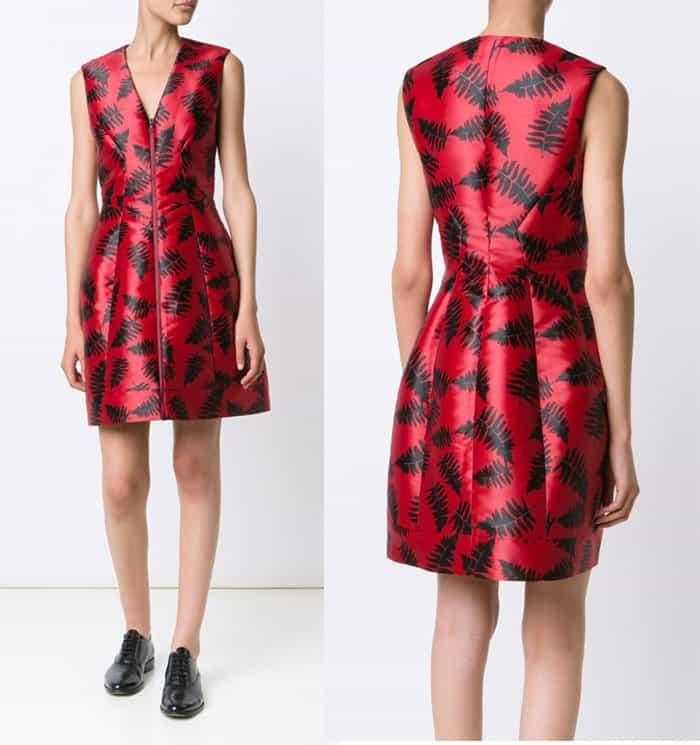 Yigal Azrouel Black Ferns Dress