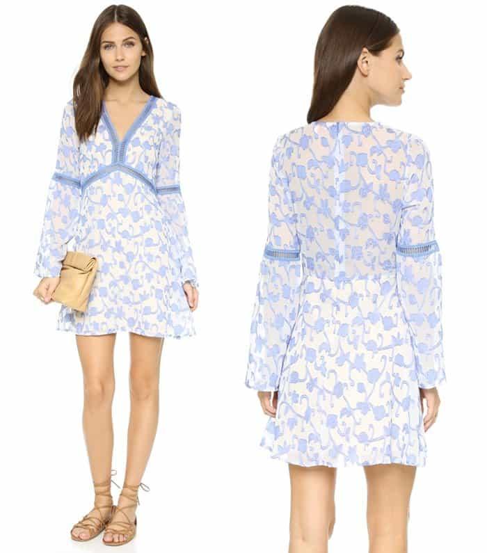 renamed Great Vine Bell Sleeve Dress3