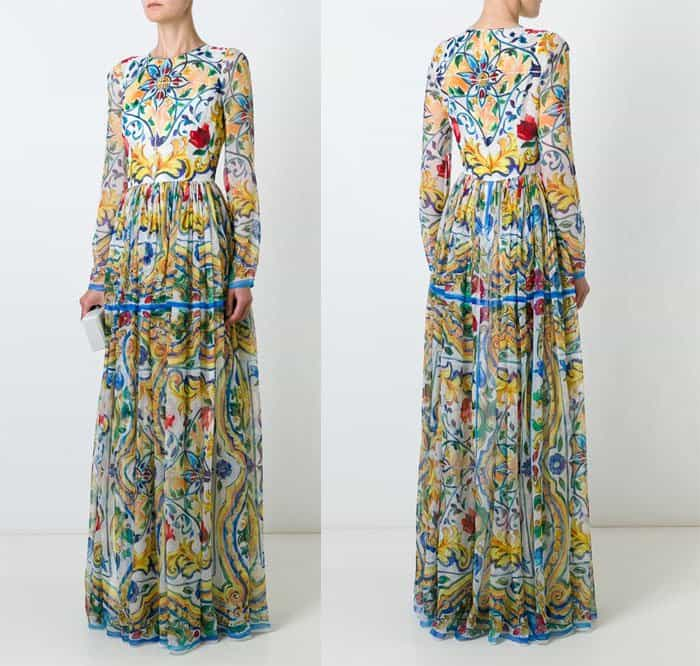dolce-gabbana-majolica-print-long-dress