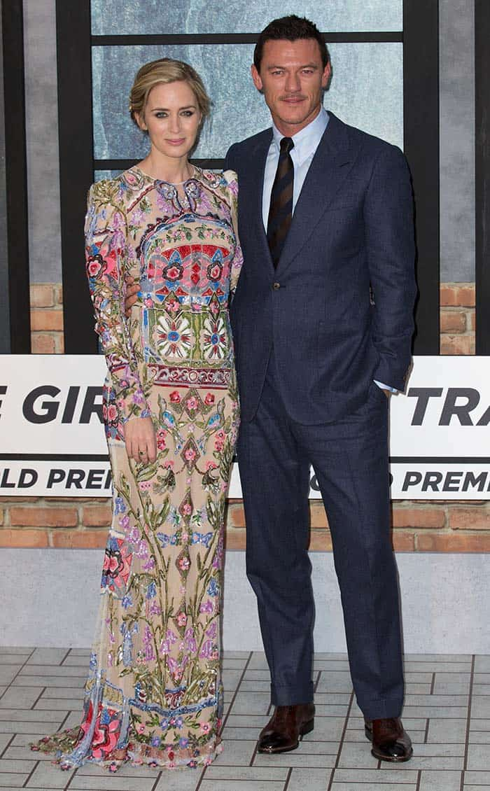 The World Premiere of 'The Girl on the Train'