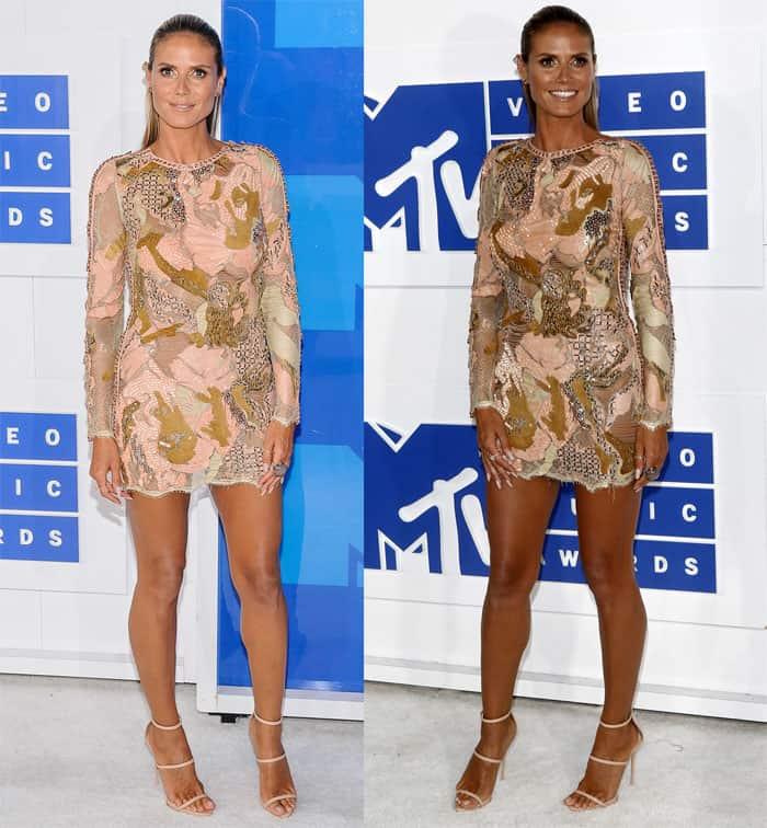 Heidi Klum MTV VMAs1