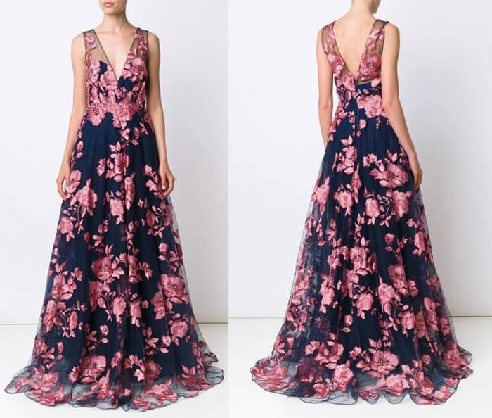 marchesa-notte-embroidered-flower-gown
