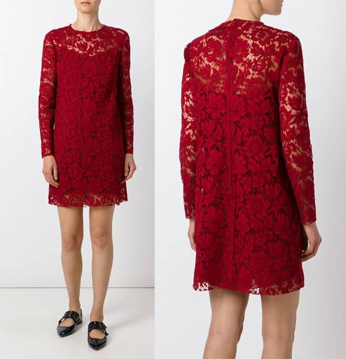 valentino-floral-lace-dress