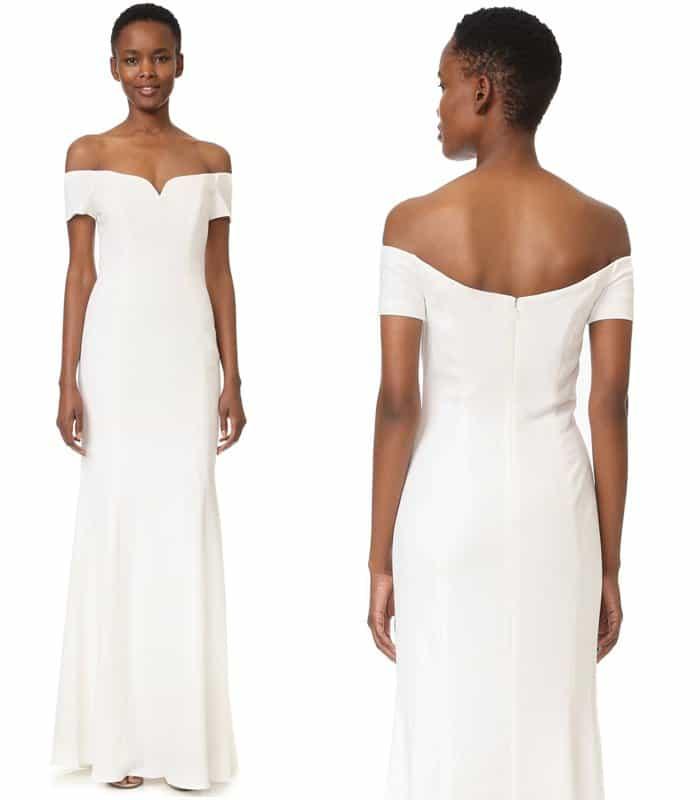 badgley-mischka-collection-off-shoulder-short-sleeve-gown