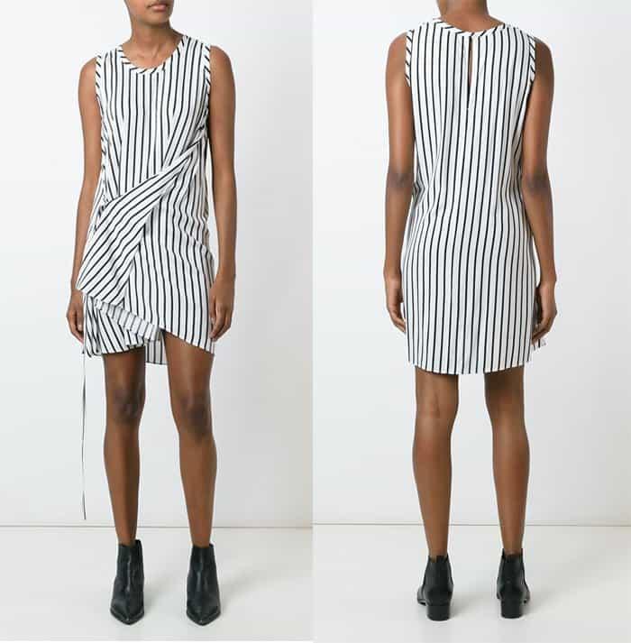 mcq-alexander-mcqueen-knot-drape-dress