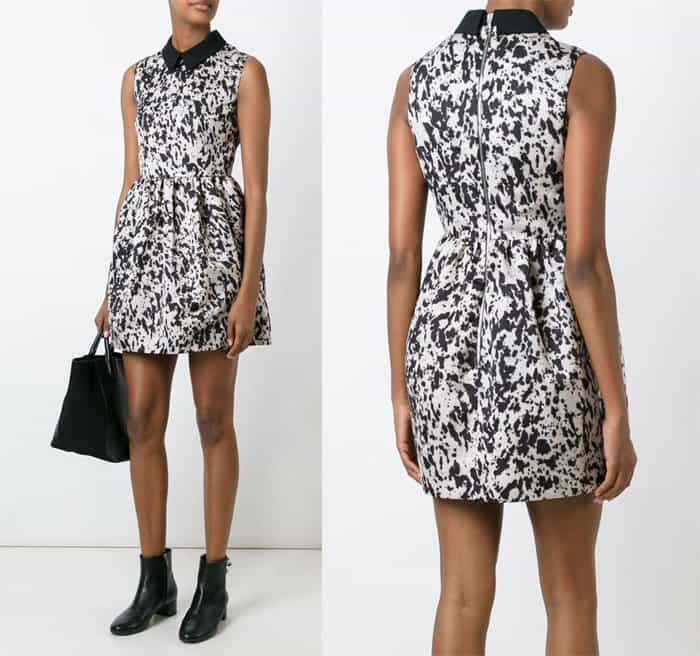mcq-alexander-mcqueen-pony-print-party-dress