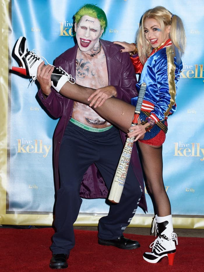 One of their standout looks was that of Harley Quinn and the Joker