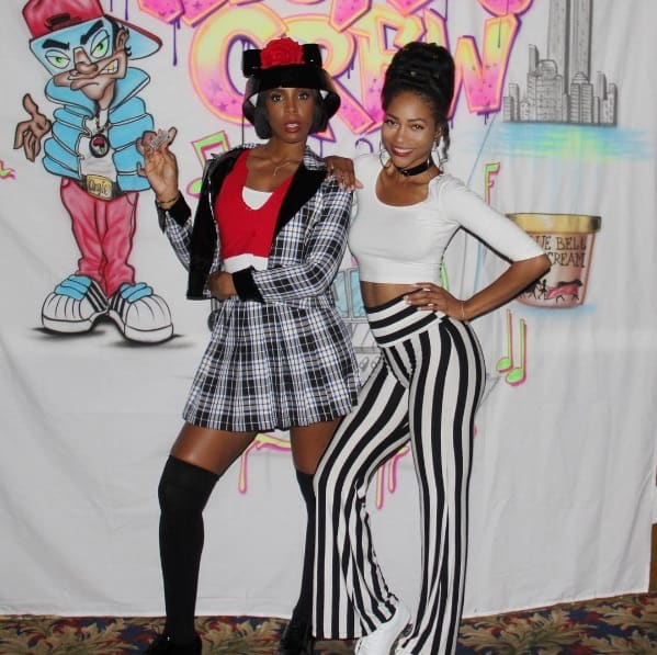 """Kelly Rowland looked super cute as she rocked a Dionne-inspired wardrobe from the hit chick flick """"Clueless."""""""