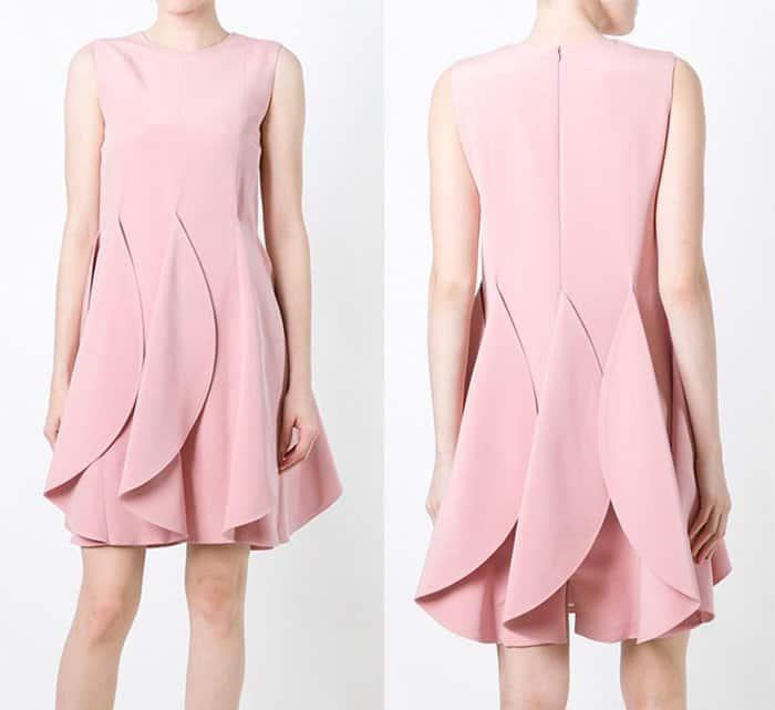 gianluca-capannolo-petal-effect-dress