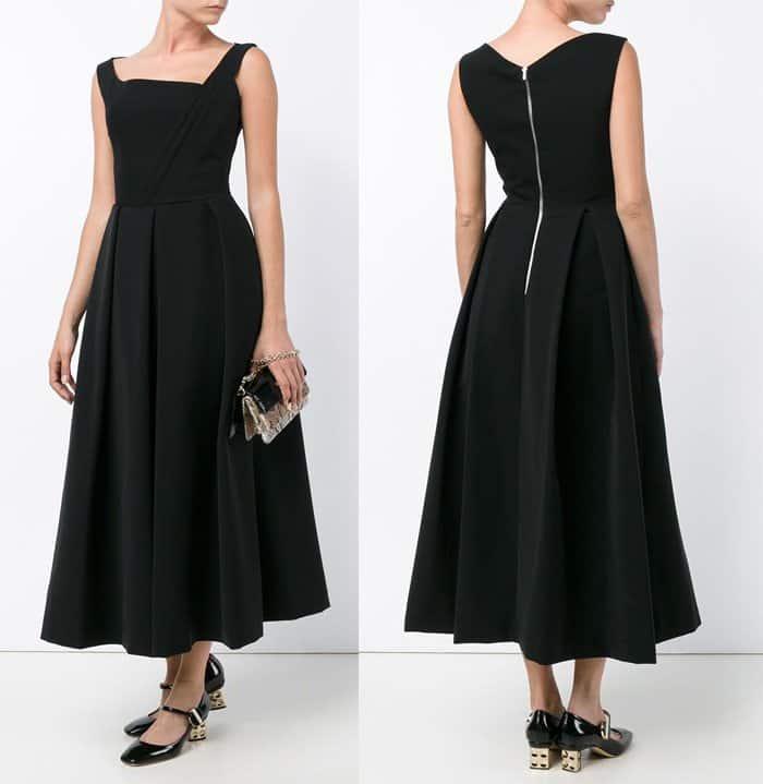 preen-by-thornton-bregazzi-pleated-bustier-dress