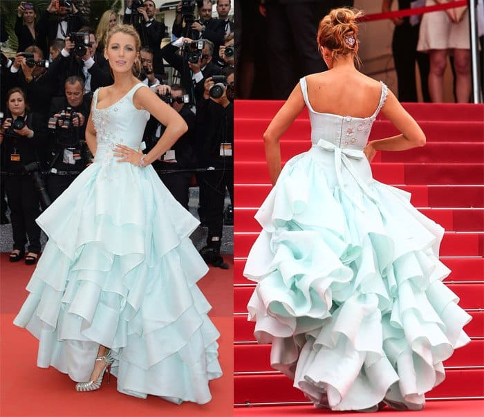 Blake Lively's second pregnancy did not stop her from looking spectacular at the 69th Cannes Film Festival