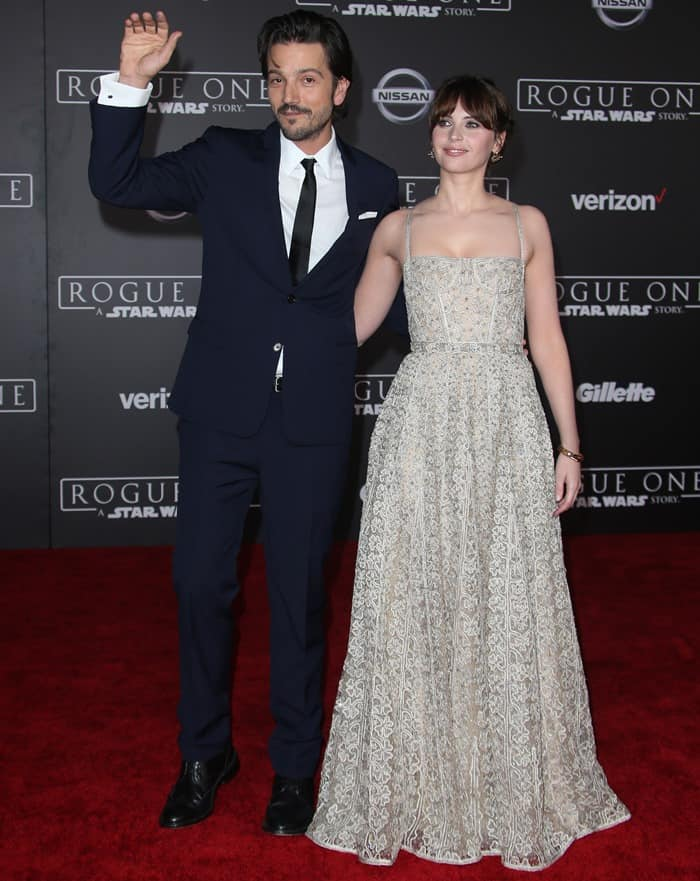 """Premiere Of Walt Disney Pictures And Lucasfilm's """"Rogue One: A Star Wars Story"""""""