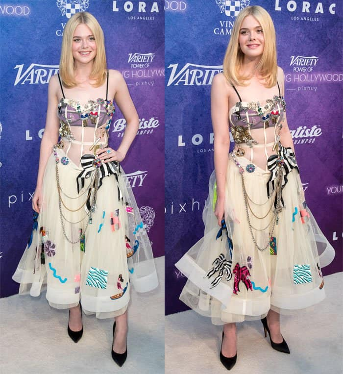 Elle Fanning at Variety's Power of Young Hollywood presented by Pixhug in Los Angeles on August 16, 2016