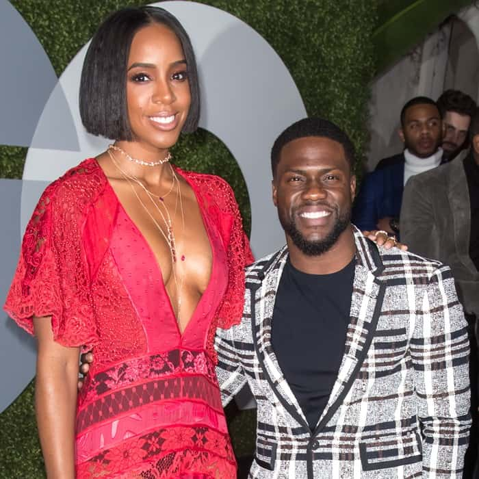 Kelly Rowland made jaws drop at the 2016 GQ Men of the Year Party held at the Chateau Marmont on Thursday night in West Hollywood