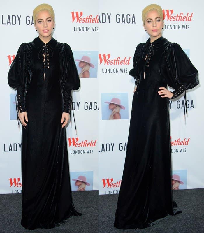 lady-gaga-velvet-dress2