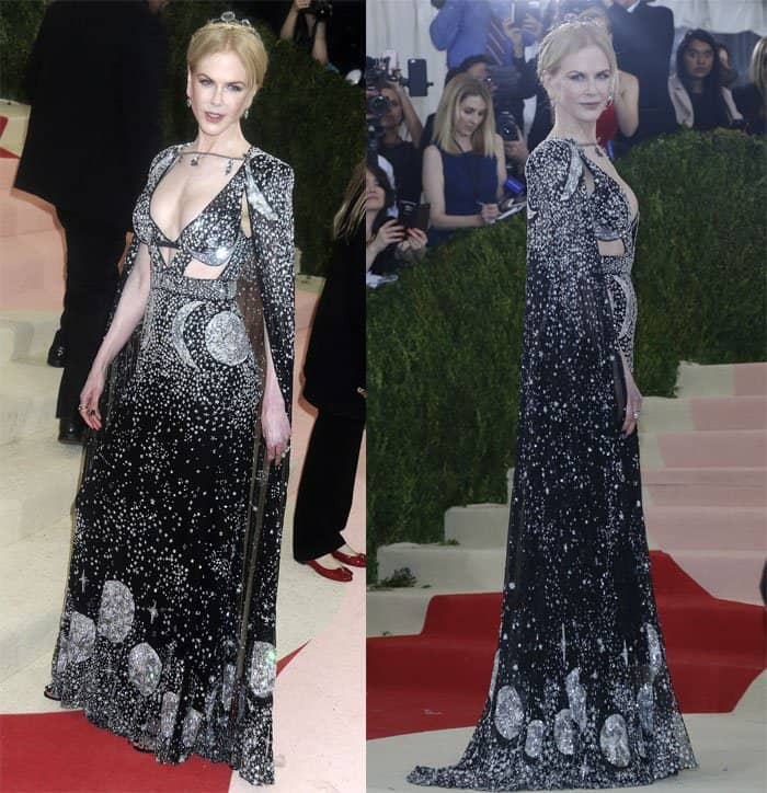 Nicole Kidman at the Metropolitan Museum of Art Costume Institute Gala: Magnus x Machina: Fashion in the Age of Technology at the Met Museum in New York on May 2, 2016