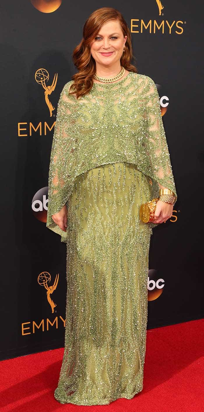 >Amy Poehler arrives at the 68th Annual Primetime Emmy Awards at Microsoft Theater on September 18, 2016 in Los Angeles, California