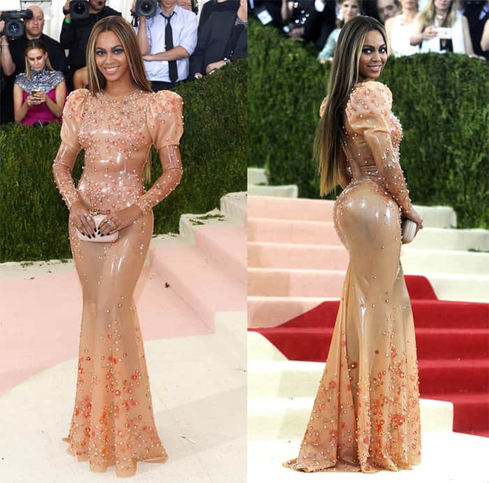 Beyonce at the Manus x Machina: Fashion in an Age of Technology Costume Institute Gala held at the Metropolitan Museum of Art in New York on May 2, 2016