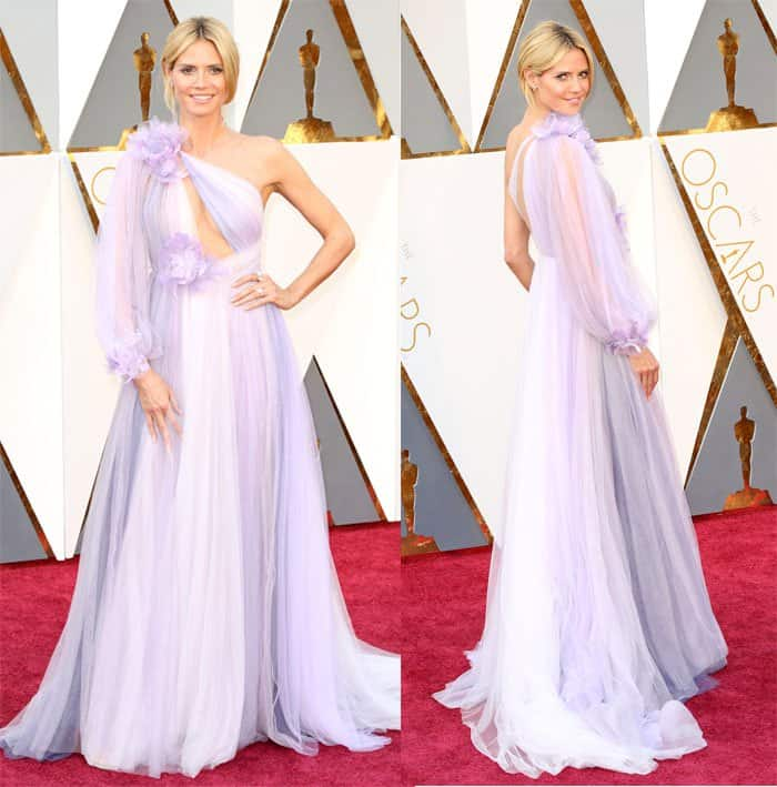 Heidi Klum at the 88th Annual Academy Awards in Los Angeles on February 28, 2016