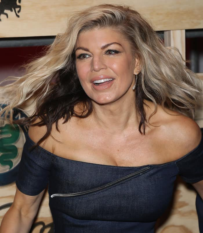 Fergie attends the 13th Annual ESPN The Party on February 3, 2017 in Houston, Texas