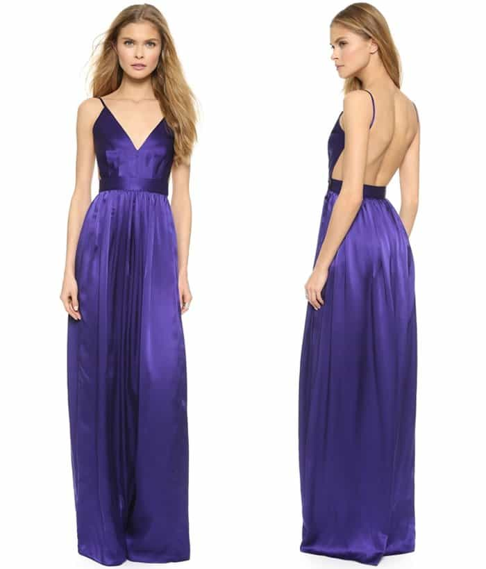 One by by Contrarian 'Babs Bibb' Maxi Dress