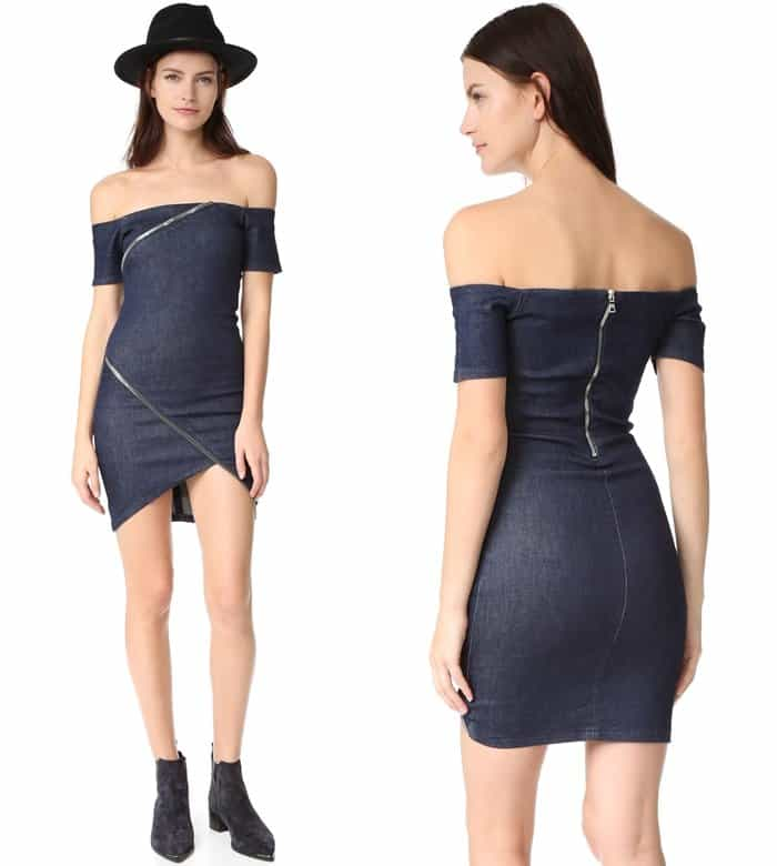 "Formfitting RtA ""Lilou"" Off-Shoulder Dress"